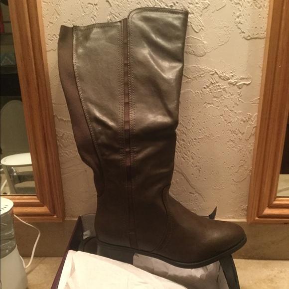 4d24de1e508 Extra wide calf boots